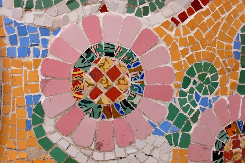 Mosaïque à Barcelone