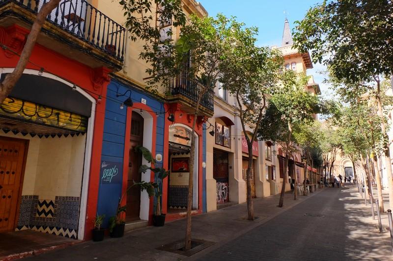 Une rue de Gracia