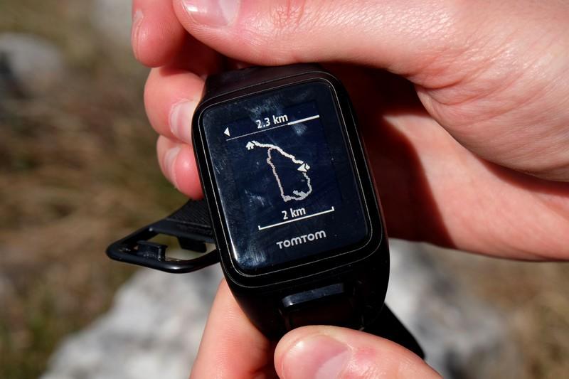 Tracé GPS du Tour du Mont Chauve