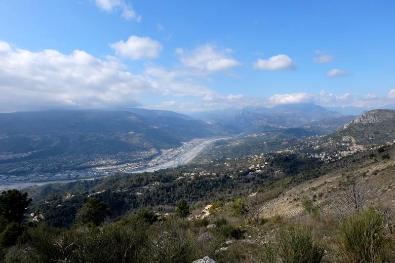 Vue sur la Vallée du Var