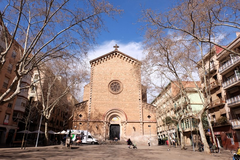 Visister Barcelone avec la Plaça de la Virreina