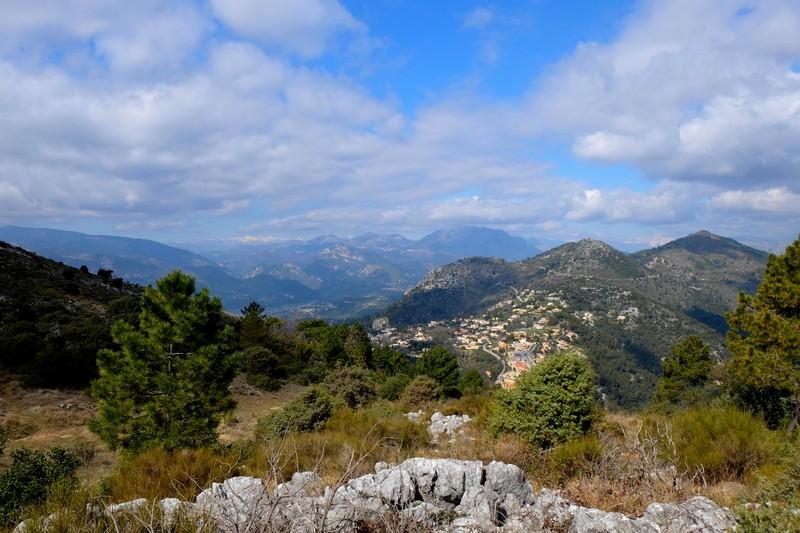 Vue lors du Tour du Mont Chauve