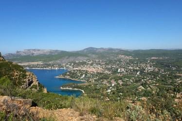 week-end à Cassis : vue en hauteur