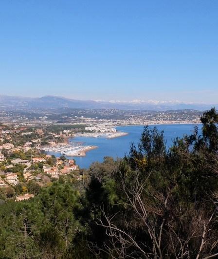 Rocher des Monges : panorama sur la Méditerranée