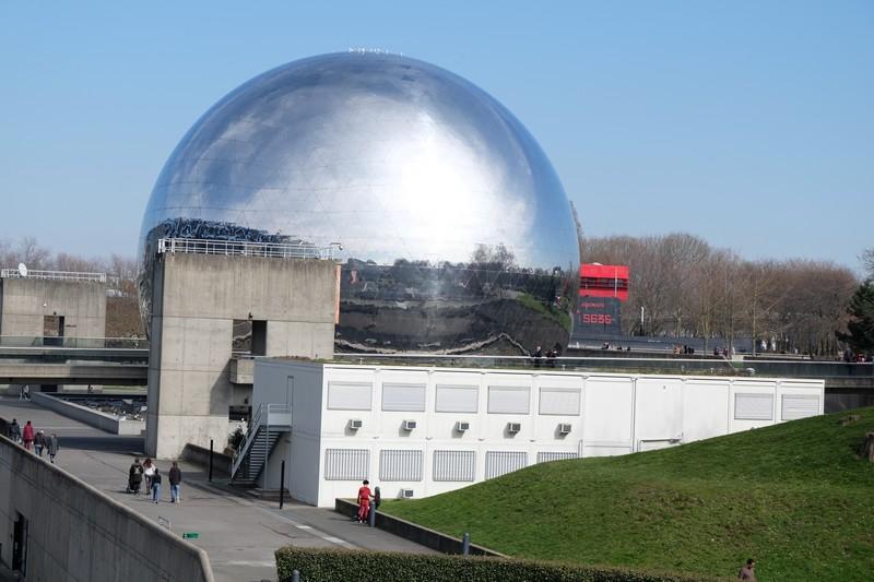 La Cité des Sciences et de l'Industrie à Paris