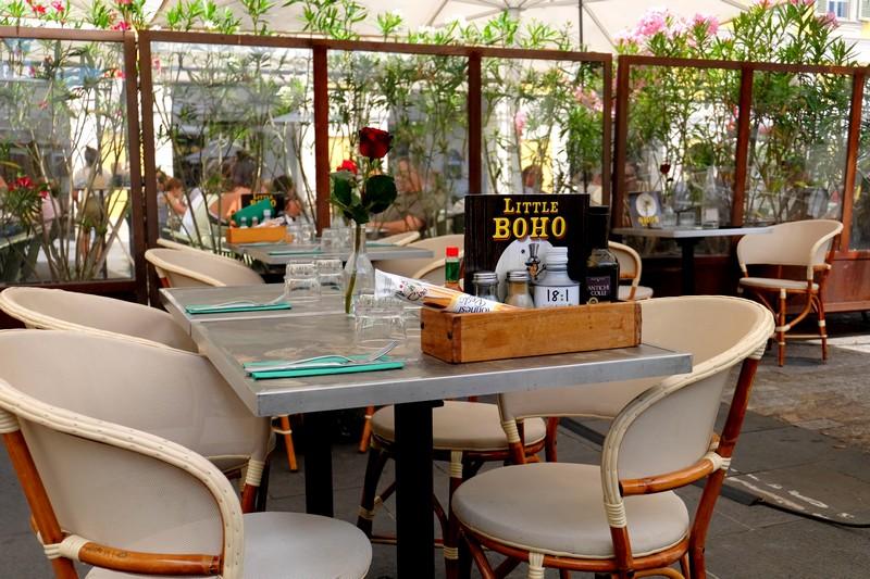 Terrasse du restaurant Little Boho