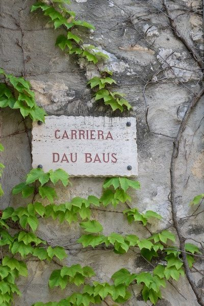 Carriera dau baus à Peillon
