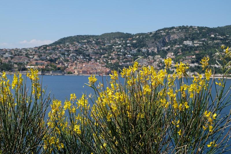 Panorama sur Villefranche-sur-Mer