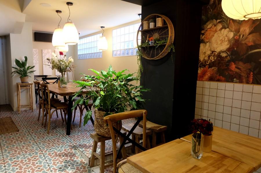 Restaurant asiatique dans le Carré d'Or à Nice