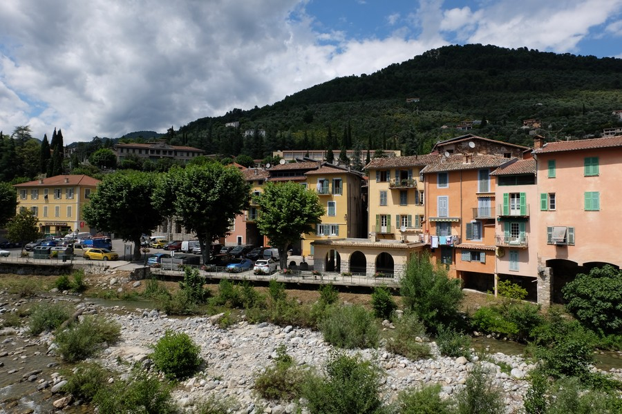 Sospel dans l'arrière-pays de Nice