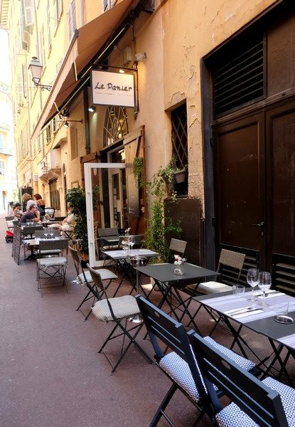 Restaurant dans le Vieux-Nice