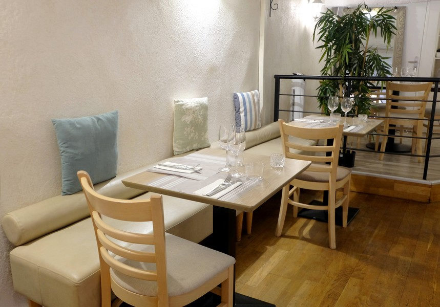 Salle du restaurant Le Panier à Nice