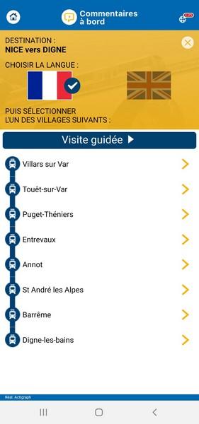 Application des Chemins de Fer de Provence