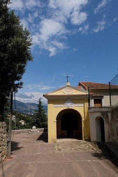Chapelle de la Pausa à Roquebrune-Cap-Martin