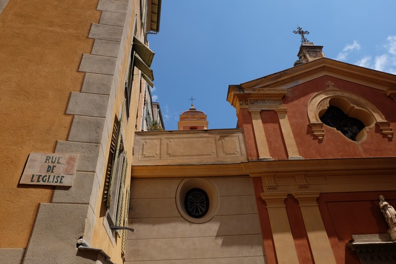 Eglise Sainte-Marguerite à Roquebrune-Cap-Martin