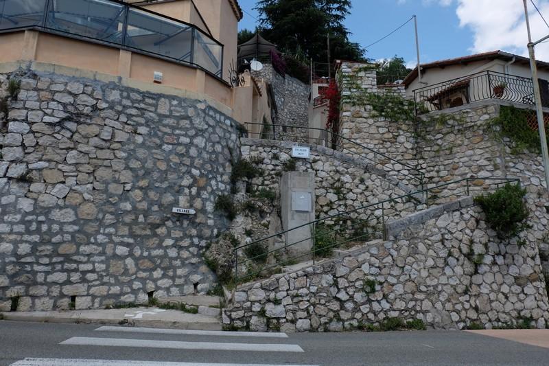 Escaliers pour visiter le village perché de Roquebrune-Cap-Martin