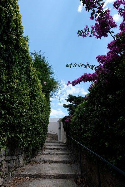 Escaliers du village de Roquebrune-Cap-Martin