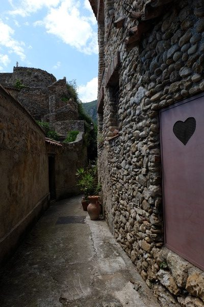 Ruelle du village de Roquebrune-Cap-Martin