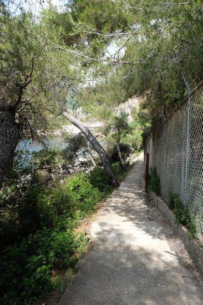 Sentier pédestre du Cap Martin à Roquebrune
