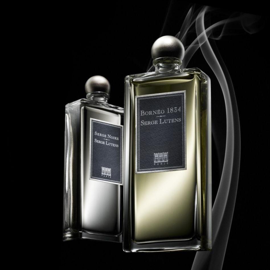 Avis sur Serge Lutens, les parfums Serge Noire et Bornéo 1834