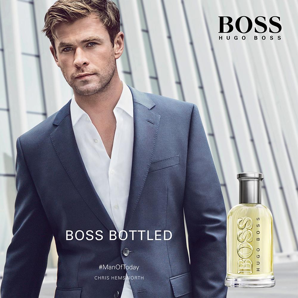 Mainstream intemporel pour Homme, Hugo Boss Bottled compte parmi les parfums blockbusters