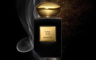Sable Nuit, le nouveau parfum d'Armani Privé