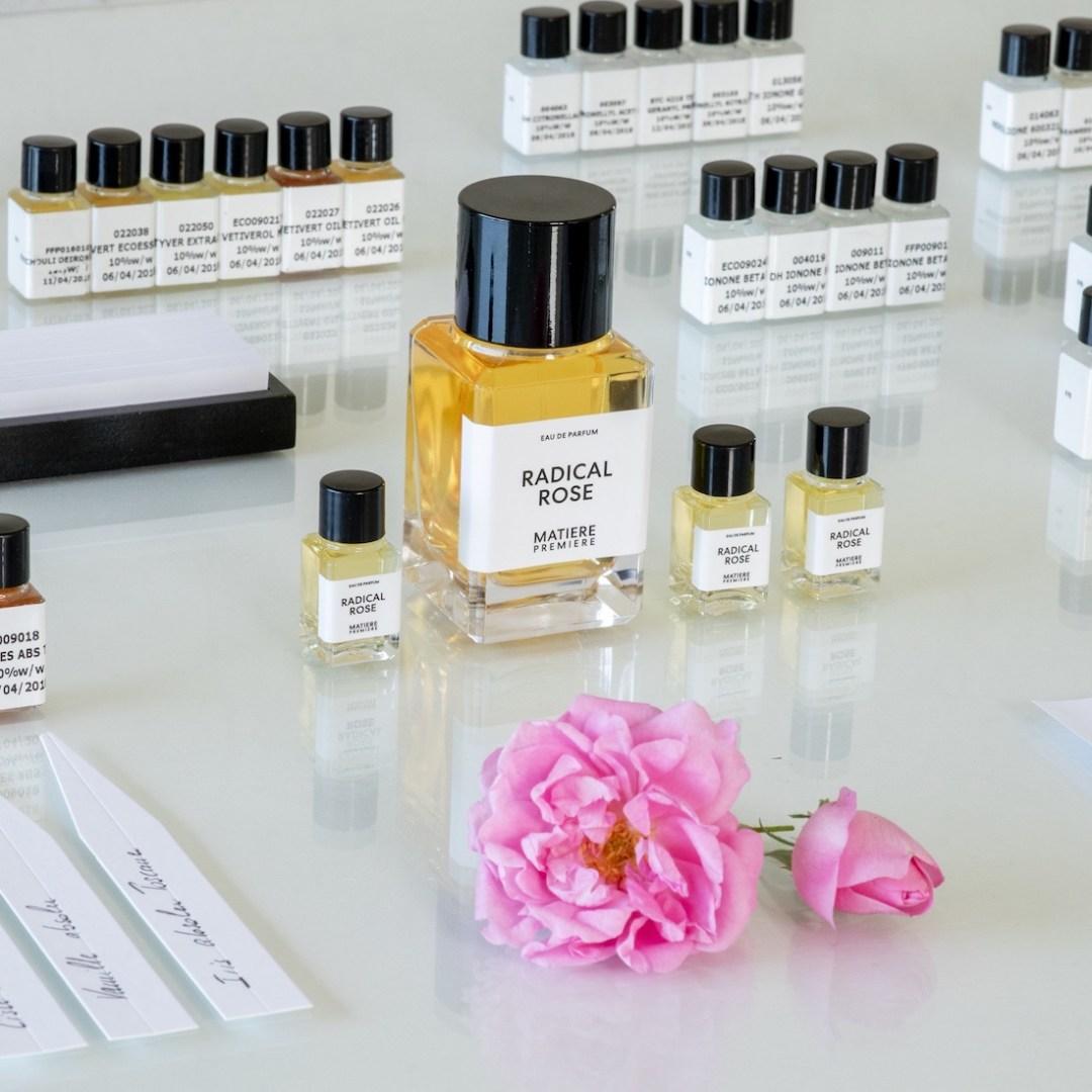 Meilleurs parfums 2020 : Radical Rose de Matière Première. Ball-Trap Awards Balle d'Or - La Parfumerie Podcast