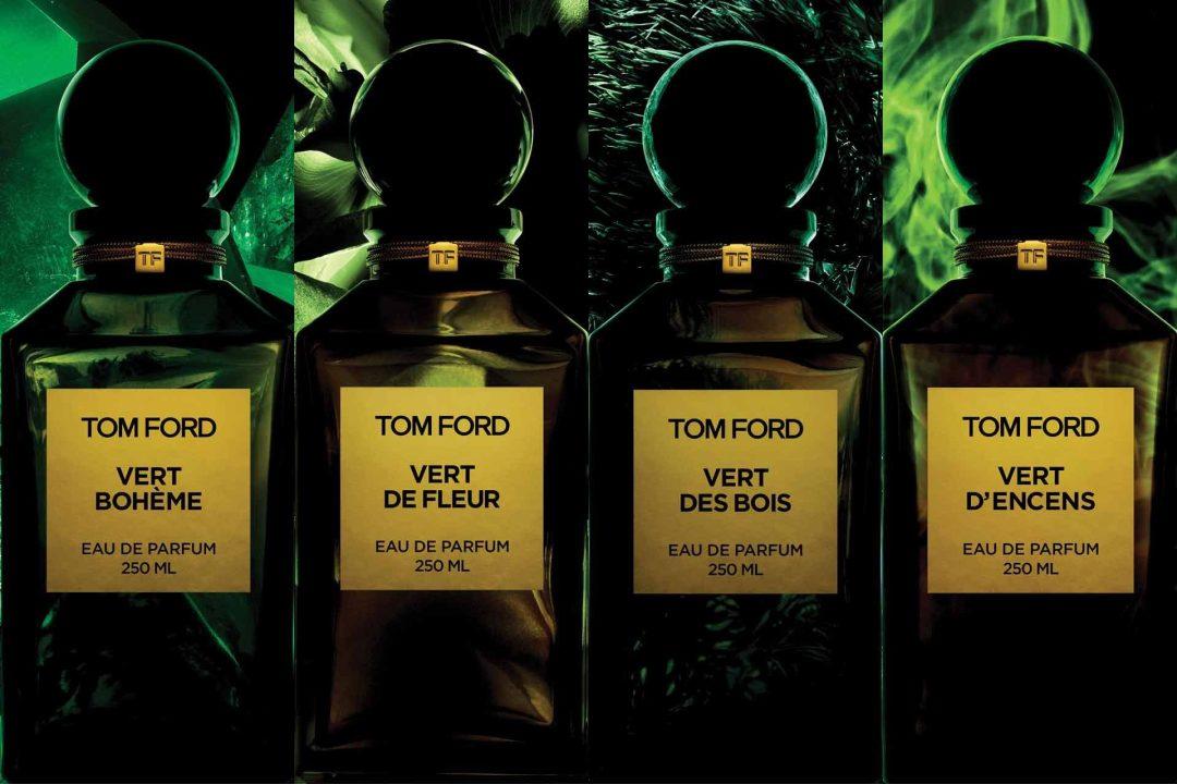 La collection des verts de Tom Ford, le début de la fin ?