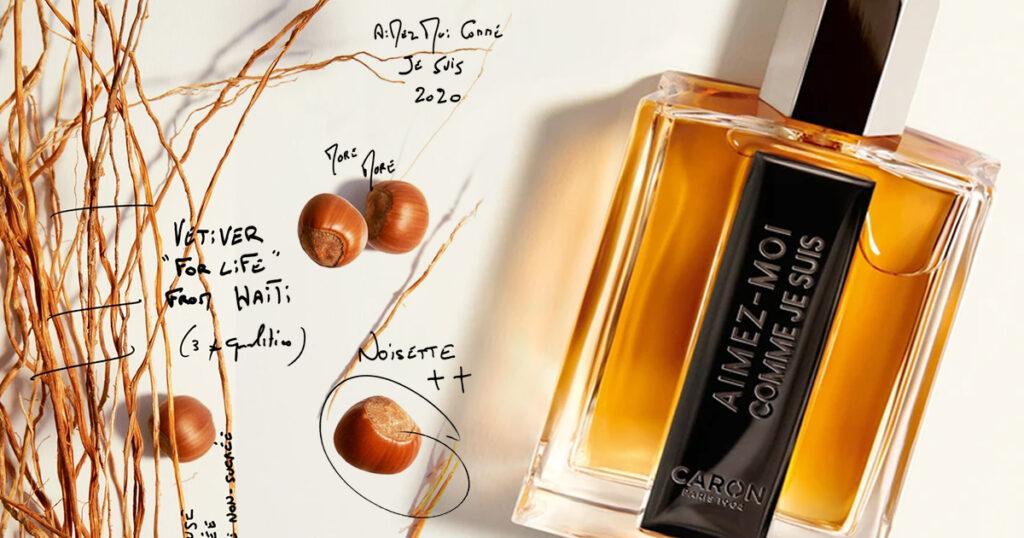 À contre courant de la tendance, le parfum Aimez-Moi Cmme Je Suis de Caron par le parfumeur Jean Jacques
