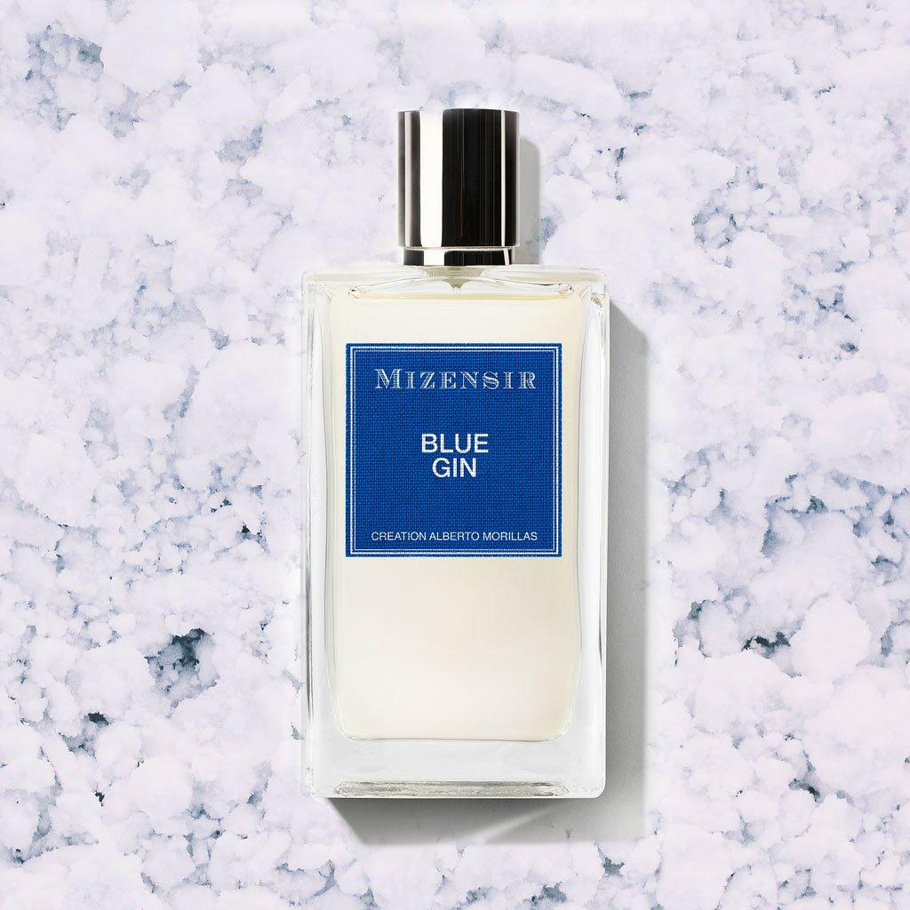 Flacon Blue Gin de Mizensir, Eau de Parfum Alberto Morillas