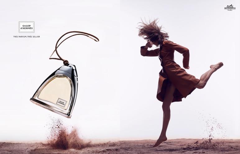 Au-delà des tendances parfum : Galop d'Hermès par Christine Nagel