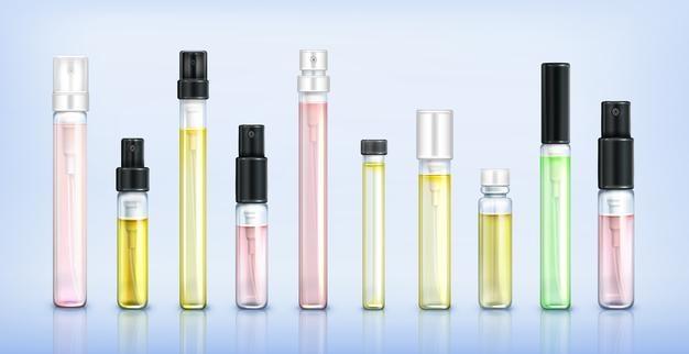 Échantillons de Parfums, rien de mieux pour sentir tranquillement