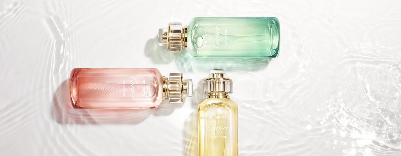 Les Rivières de Cartier : 3 nouveaux parfums