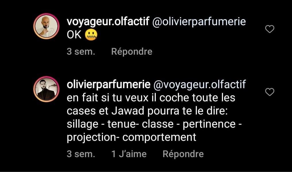 Olivier Parfumerie et ses commentaires qui dénigrent les jeunes avec Voyageur Olfactif, épisode 3