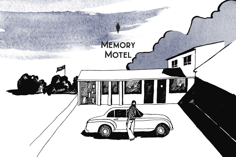 Avis Memory Motel Une Nuit Nomade : illustration Roxane Lagache