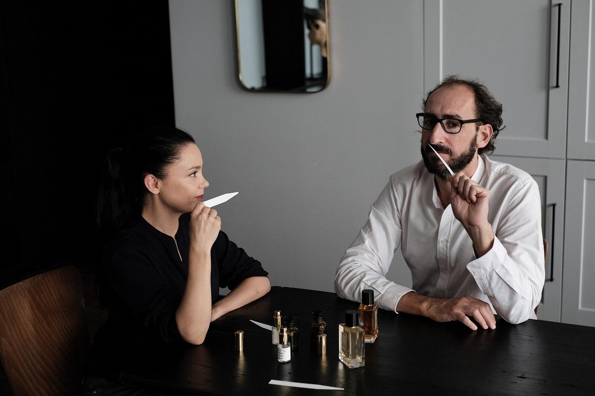 Une Nuit Nomade : les fondateurs de la marque Philippe Solas et Alexandra Cubizolles