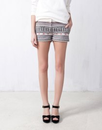 Shorts etnico