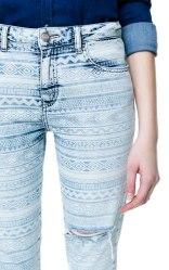 Pantalon étnico azul