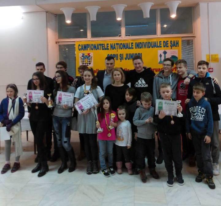 Rezultatele brașovenilor la Campionatul Naţional de Şah al României, pentru copii, juniori şi tineri