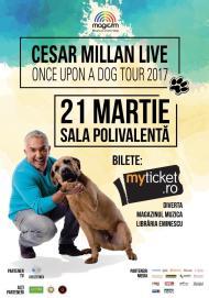 Poster Cesar Millan Bucuresti