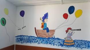 Povesti desenate pe pereti