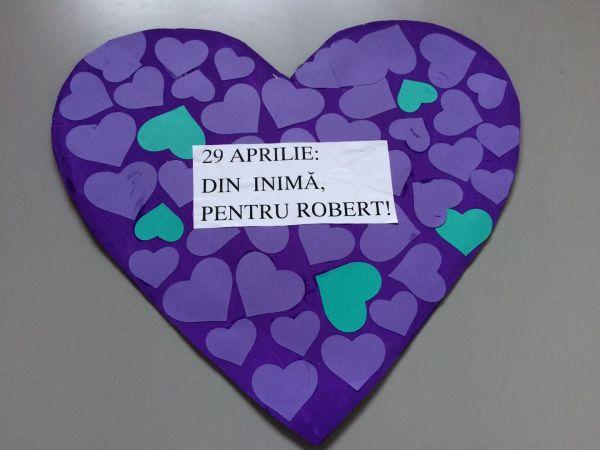 din inima pentru Robert