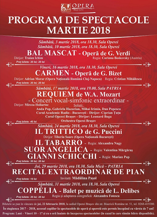 Panou MARTIE 2018