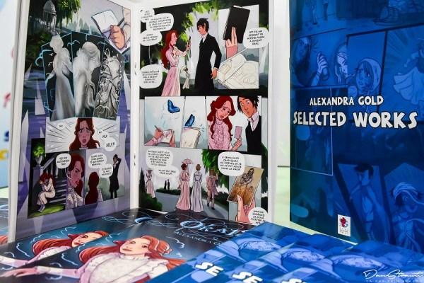 Banda desenata - Alexandra Gold