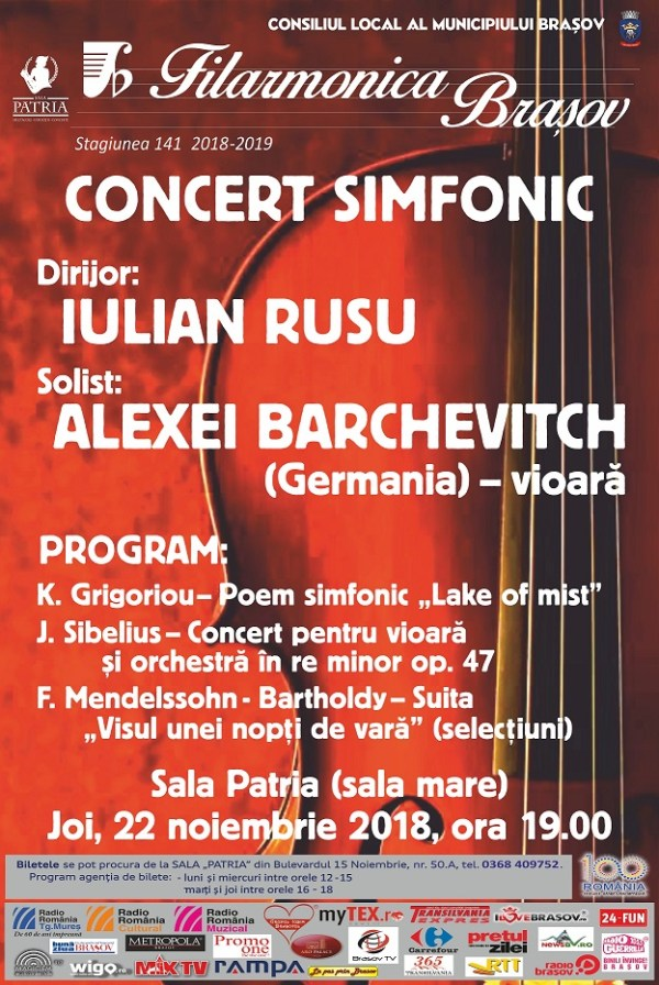 Filarmonica - concert 22 noiembrie 2018 - Copy