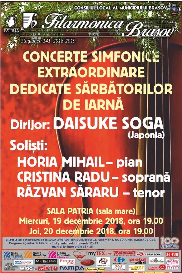 Filarmonica - Concert 19-20 dec