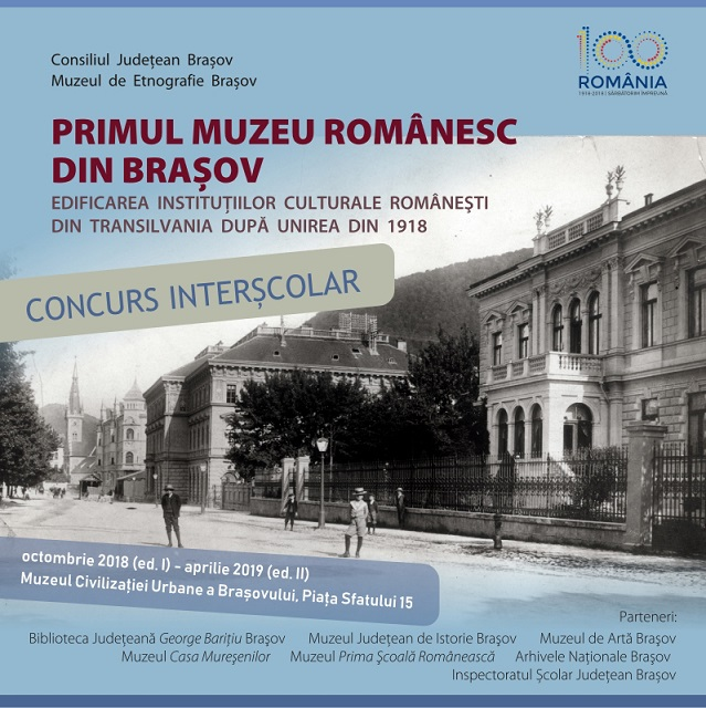 Festivitate de premiere concurs școlar la Muzeul Civilizației Urbane a Brașovului
