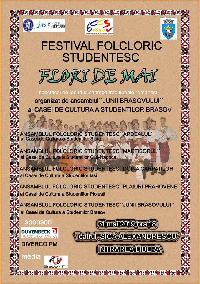 """Festivalul Național de Folclor """"Flori de mai"""""""