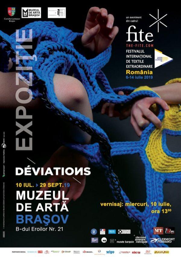 """expoziția """"Déviations"""""""