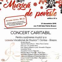 """""""Muzică de poveste"""", în beneficiul Liceului de Muzică din Brașov"""